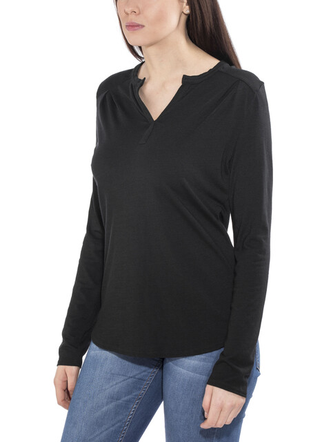 Royal Robbins Merinolux Maglietta a maniche lunghe Donna nero